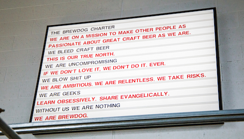The Brewdog Charter