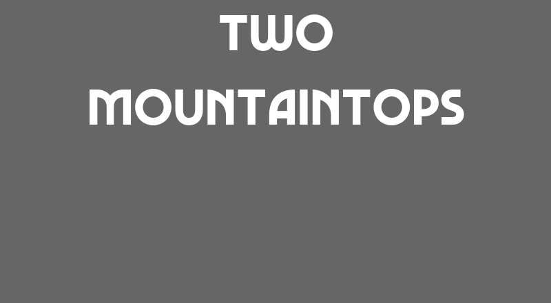 Two Mountaintops